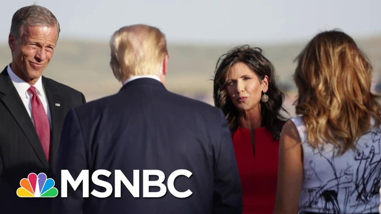 Governor Kristi Noem Under Scrutiny For Taxpayer-Funded Travel   The ReidOut   MSNBC 9