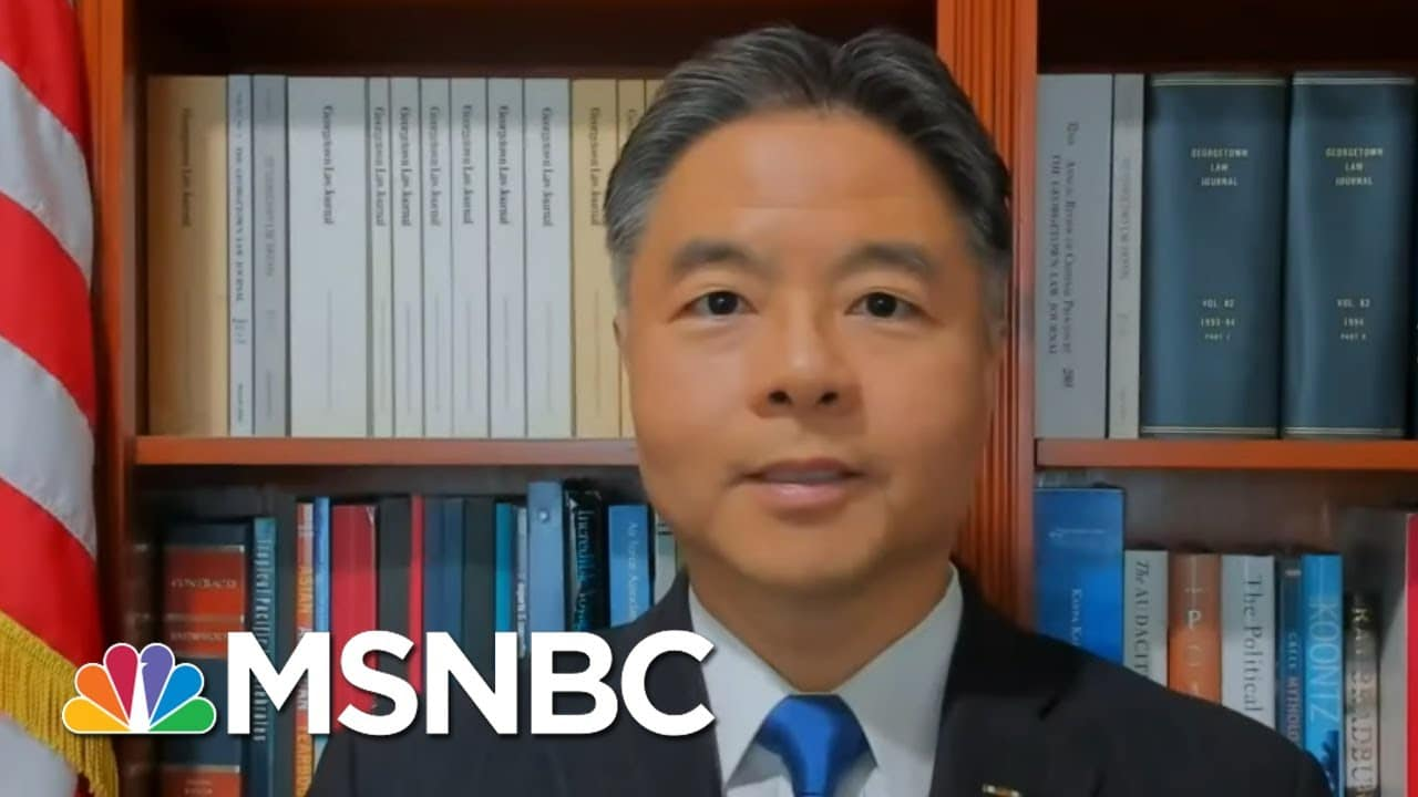 Rep. Lieu On Why Democrats Chose Not To Call Impeachment Witnesses | All In | MSNBC 8