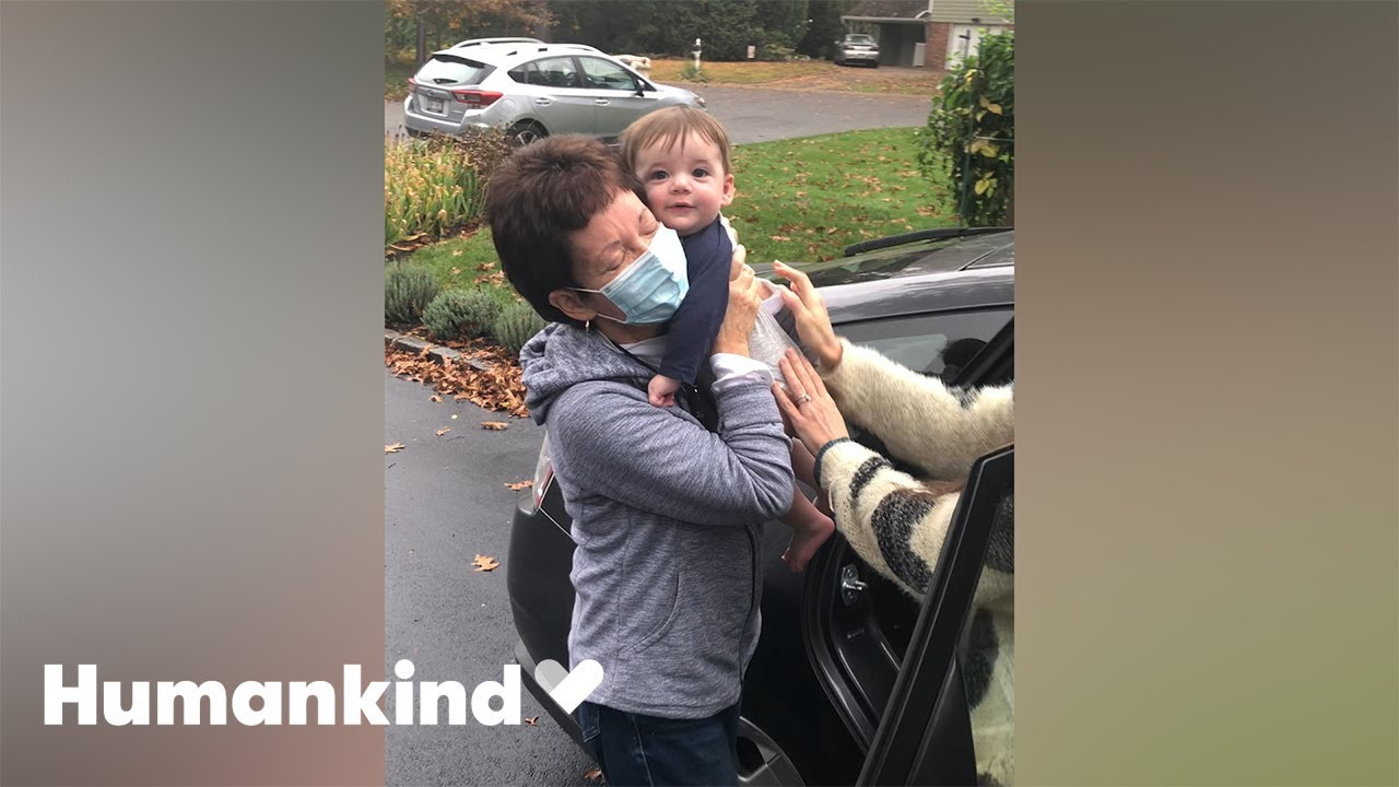 Grandma rejoices as she holds grandson for first time | Humankind 4