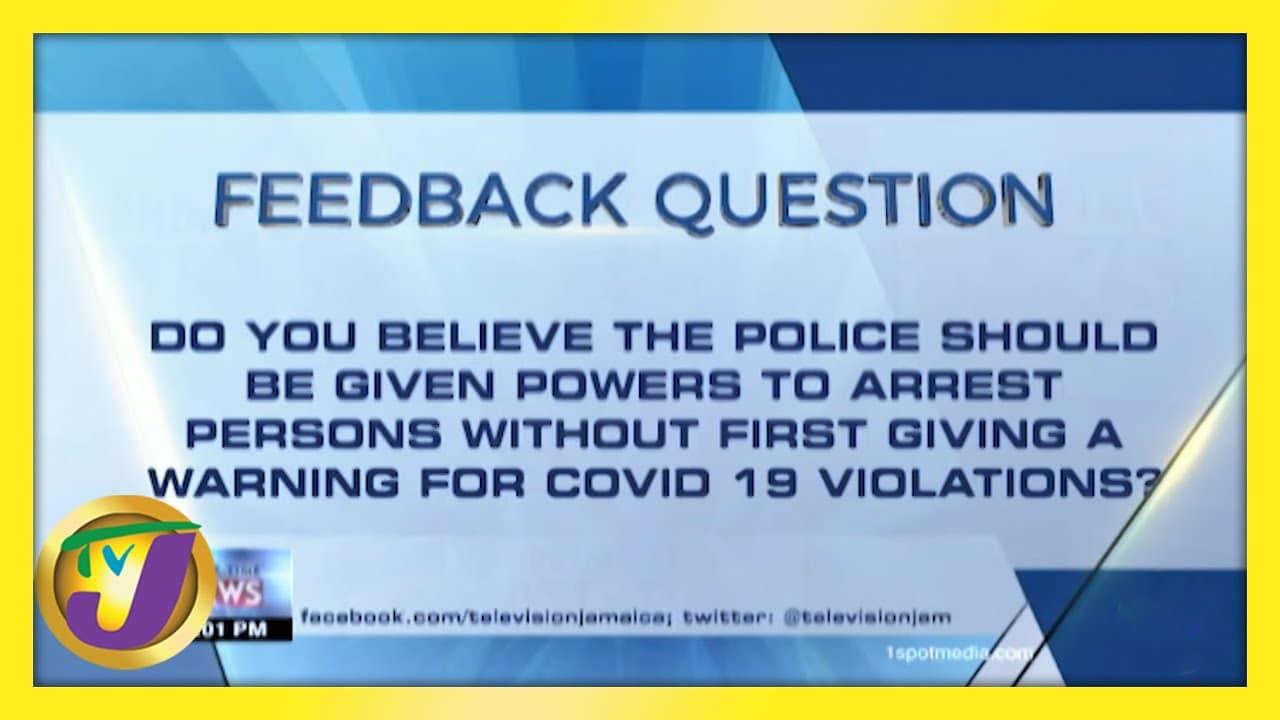 TVJ News: Feedback Question - February 12 2021 1
