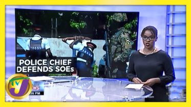 Jamaica's Police Chief Defends SOEs - February 12 2021 6