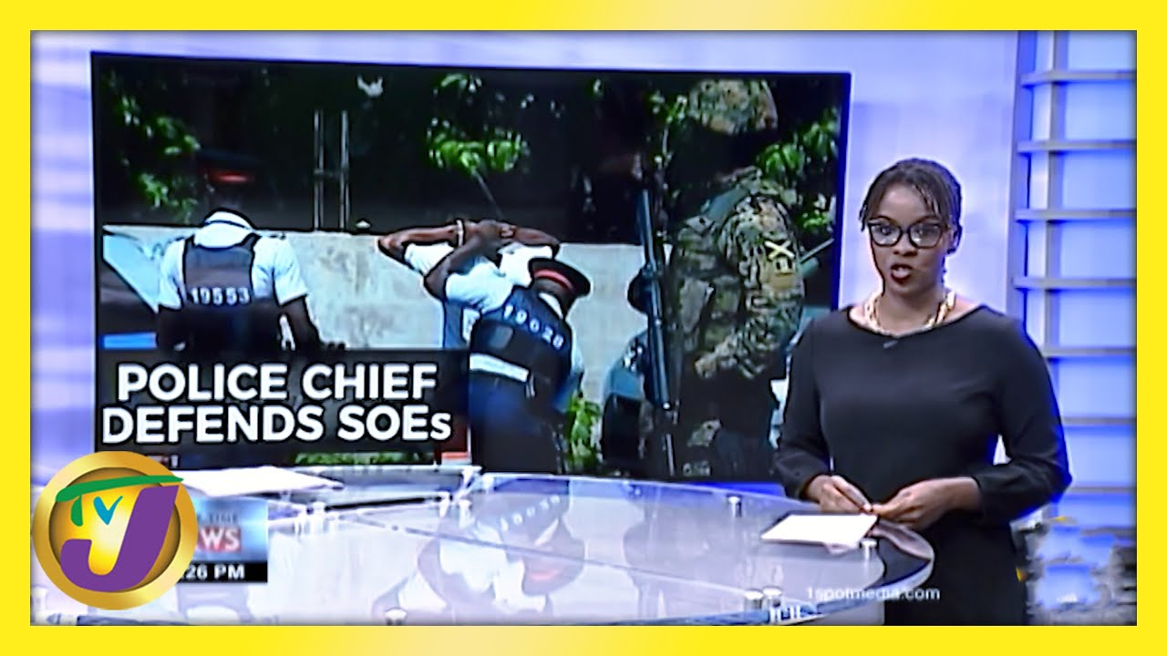 Jamaica's Police Chief Defends SOEs - February 12 2021 1