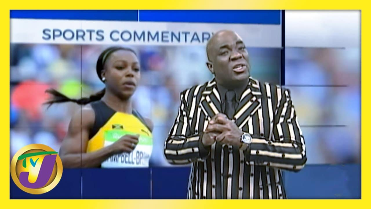 Veronica Campbell Brown: TVJ Sports Commentary - February 12 2021 1