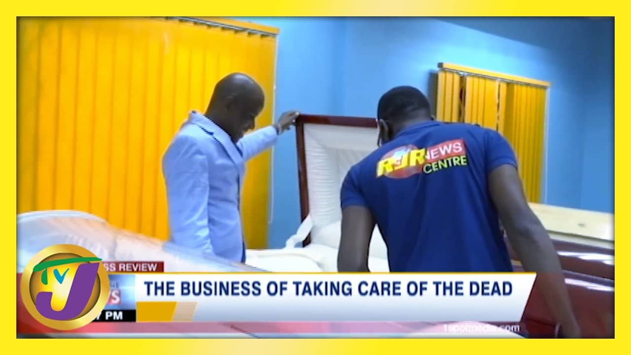 The Business of Taking Care of the Dead: TVJ Business Day - February 14 2021 1