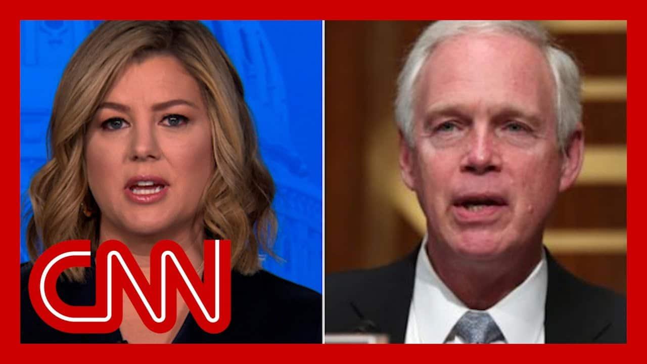 'Asinine': Keilar blasts GOP senator's Capitol riot claim 9