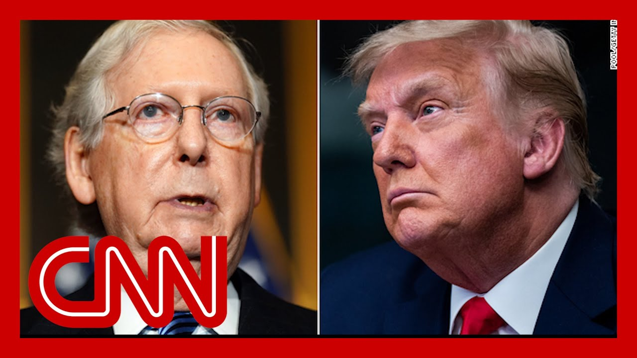 Trump issues scathing rebuke against Mitch McConnell 6