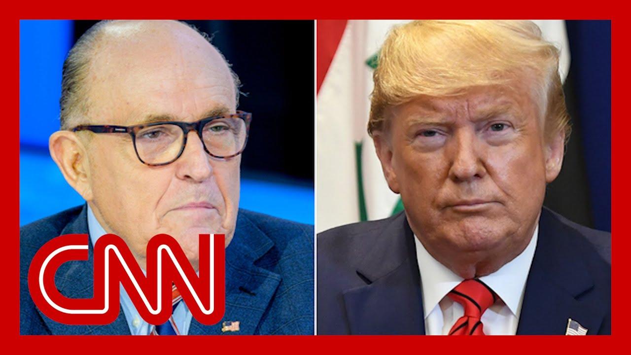 Rudy Giuliani is no longer representing Trump, adviser says 1
