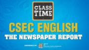 CSEC English - The Newspaper Report - February 12 2021 4
