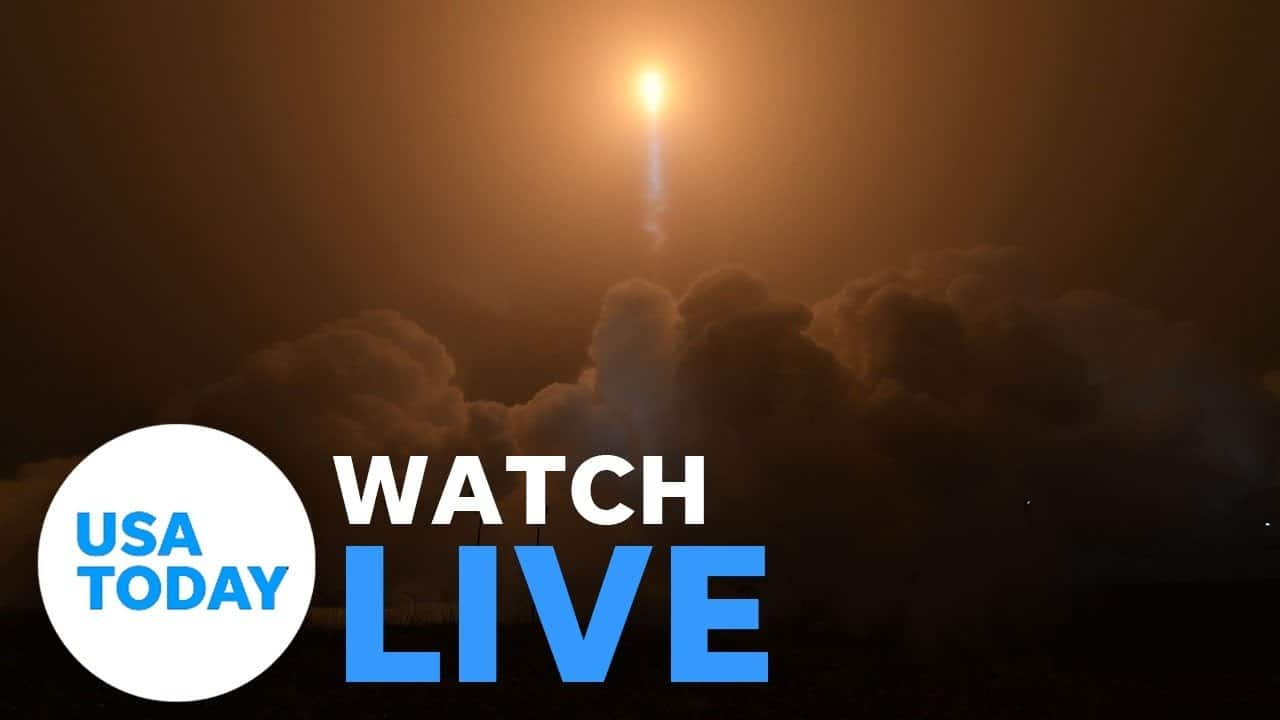 The Mars 2020 Perseverance Rover lands on the Red Planet (LIVE)   USA TODAY 1