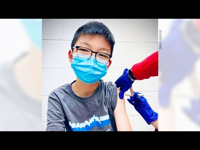 12-year-old takes part in Pfizer vaccine trial for children 1