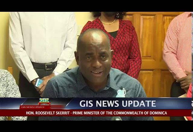 GIS News Update - PM Skerrit call on Dominicans to Support Local Products 1