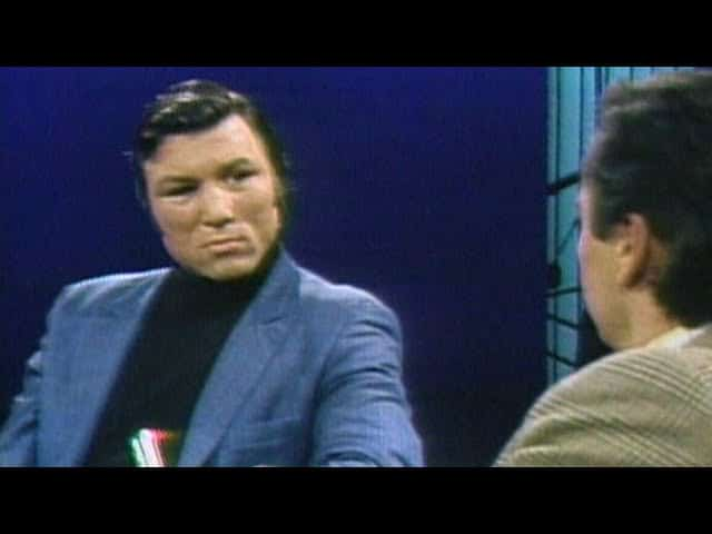 1969: Canadian boxer George Chuvalo on defending his title 1