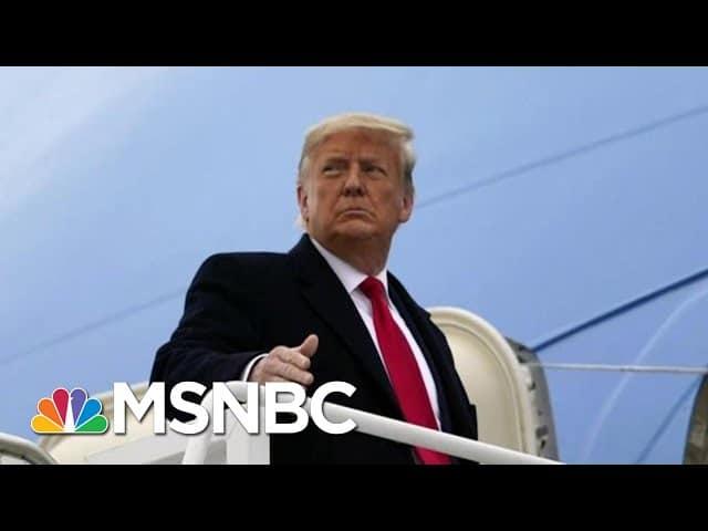 Manhattan District Attorney Obtains Trump's Tax Returns   Hallie Jackson   MSNBC 1