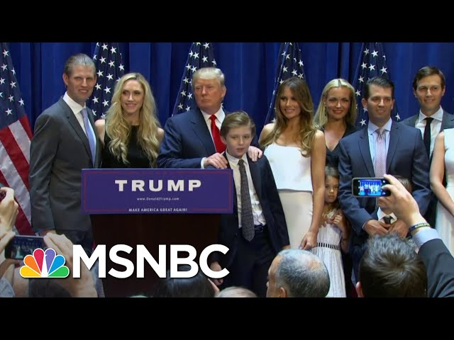 Trump Tax Documents Handed Over To Manhattan Prosecutor | The Last Word | MSNBC 6