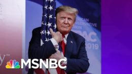 GOP's Trump Backers To Focus On Stolen Election Lie At CPAC   The 11th Hour   MSNBC 9