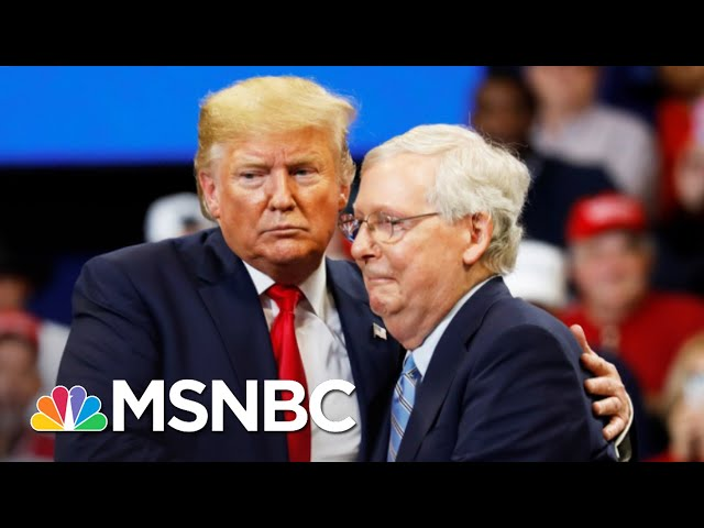 McConnell Would Back Trump In 2024 After Blaming Him For Riot | The 11th Hour | MSNBC 1