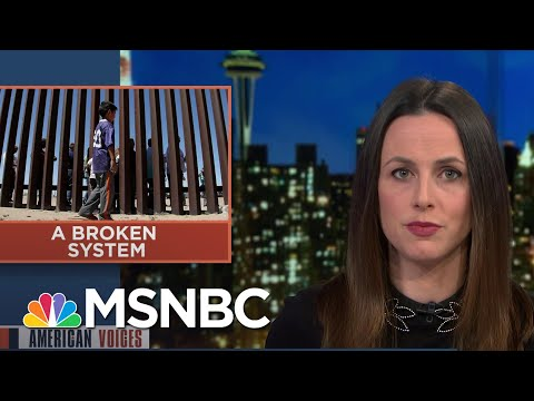 While Fighting Over Border Rhetoric, Human Beings Are In Need Of Help   MSNBC 9