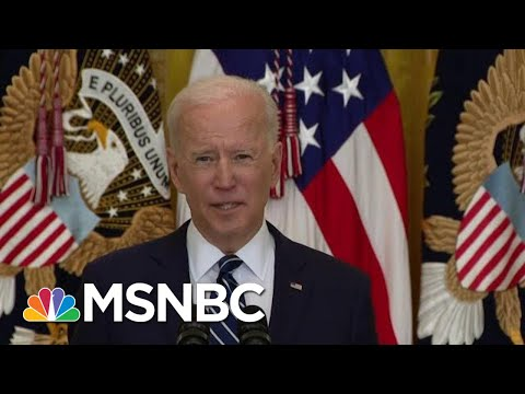 'I Miss Him': Biden Mocks Trump And Crushes McConnell In First WH Presser | The Beat With Ari Melber 1