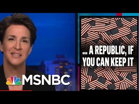 Republicans Indifferent To Unpopularity Of New Voter Suppression Agenda | Rachel Maddow | MSNBC 1