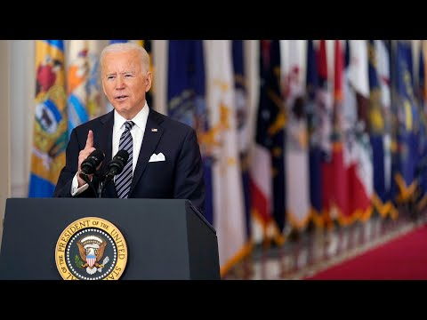 'Collective suffering': Biden pays tribute to COVID-19 dead in first prime-time address 1