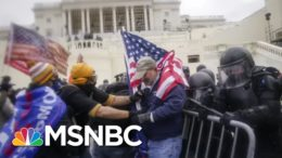 Shocking New Video Of Moment Officer Sicknick Was Attacked At Capitol Riot | All In | MSNBC 7