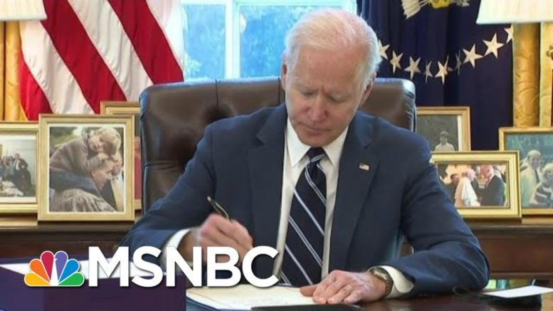 New Signs That More Biden Money May Be Coming To America | The Beat With Ari Melber | MSNBC 1