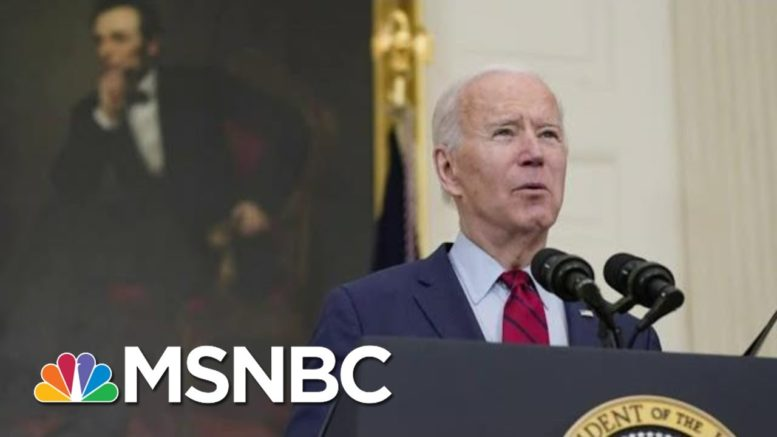 President Biden Set To Hold First Presidential News Conference | Morning Joe | MSNBC 1