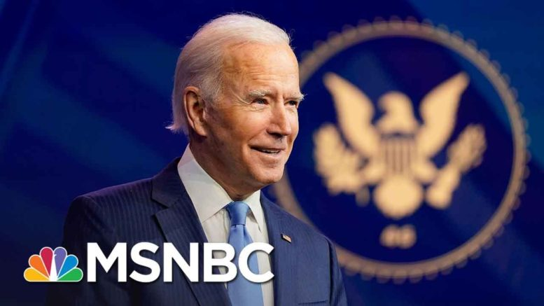 Biden To Set New 200 Million Vaccine Goal In First Press Conference | MSNBC 1