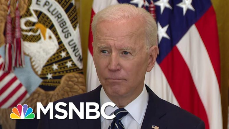 Biden: U.S. Will 'Respond Accordingly' If North Korea Continues To Escalate Tension | MSNBC 1