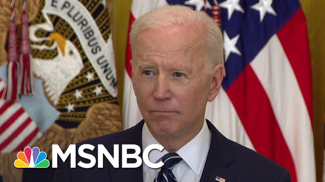 Biden: U.S. Will 'Respond Accordingly' If North Korea Continues To Escalate Tension | MSNBC 8