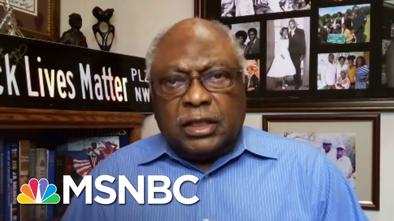 Rep. Clyburn (D-SC) On Filibuster History, Voting Rights Act   Ayman Mohyeldin   MSNBC 7