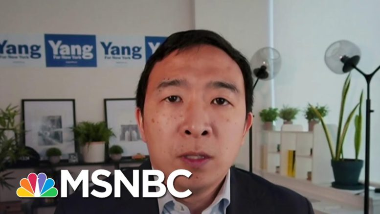 Andrew Yang Reacts To Anti-Asian Crime And His Own Experiences | Deadline | MSNBC 1
