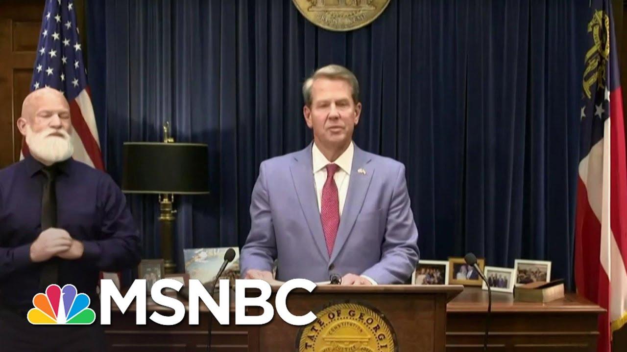 'Destructive To A Functional Democracy': GA Passes Vast Restrictive Voting Law | The ReidOut | MSNBC 1