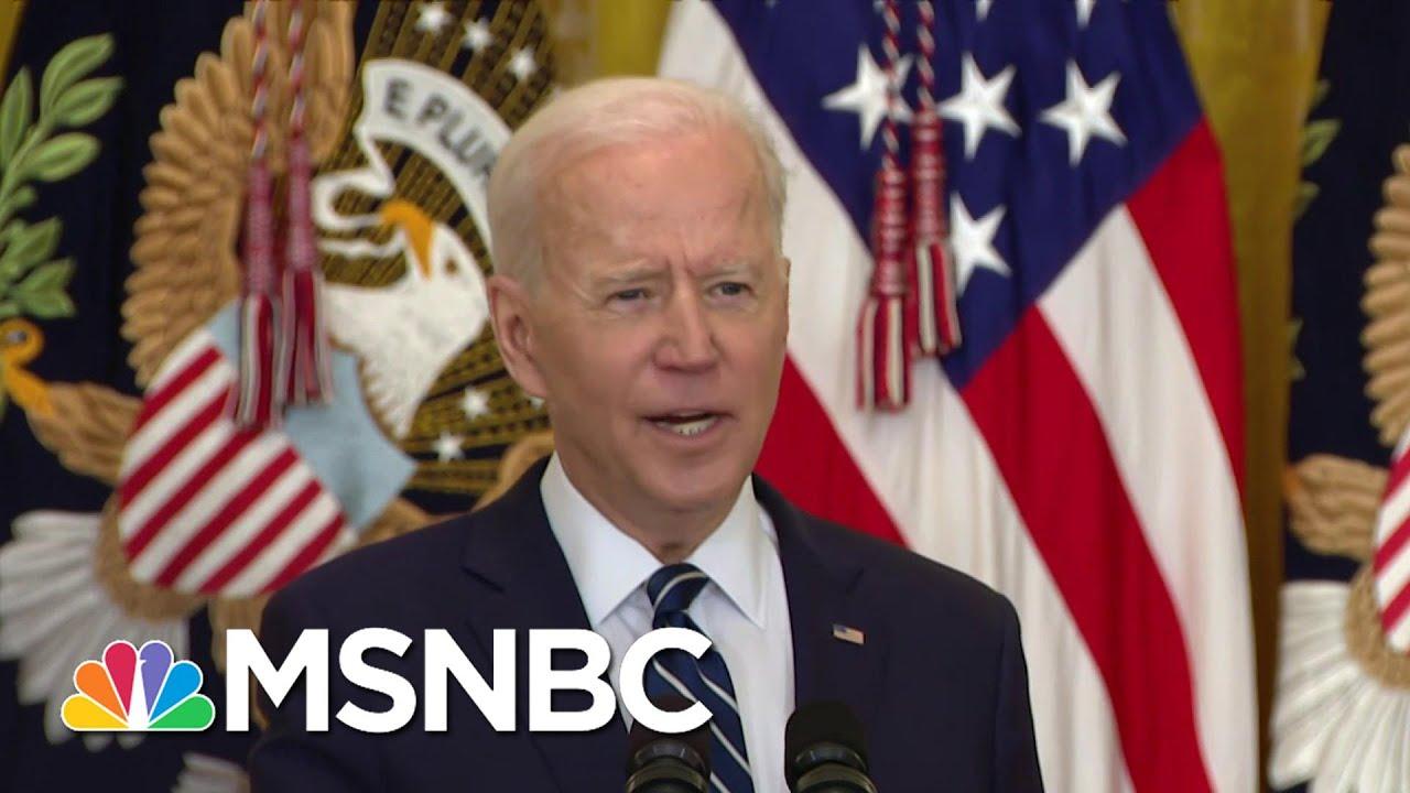 Biden Says Uptick In Border Detentions Follows Seasonal Pattern   The ReidOut   MSNBC 1