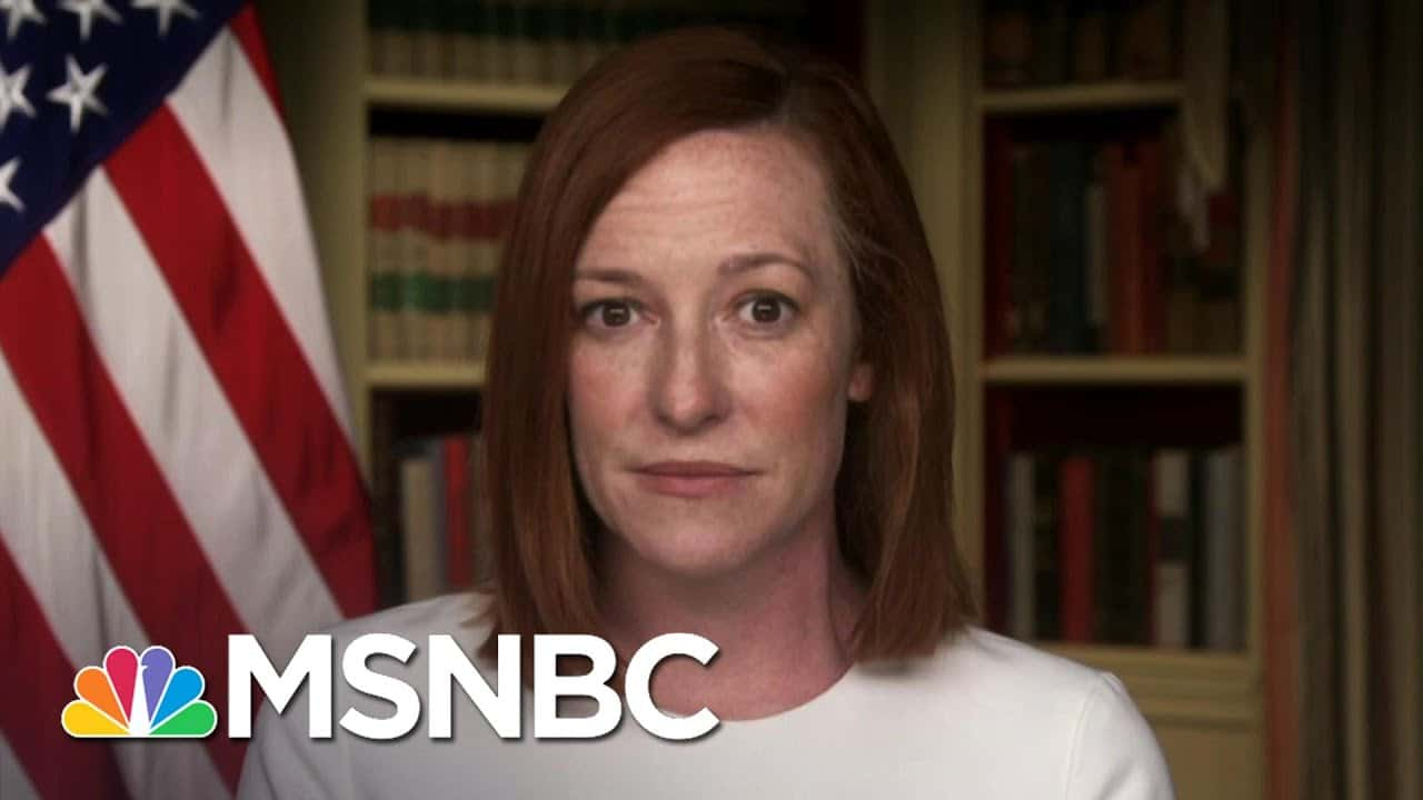 Jen Psaki: Biden Is 'Not New To The Issue Of Gun Violence' | The Last Word | MSNBC 2