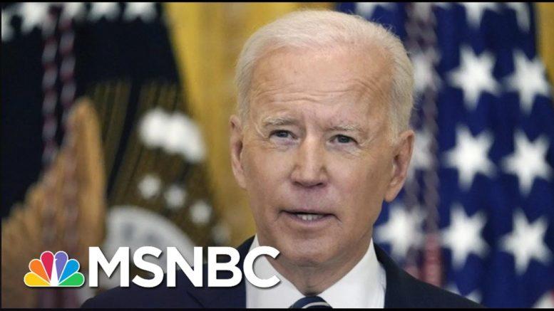 Slavitt: Biden Brings Calm, Clear Leadership To Covid Response   The 11th Hour   MSNBC 1