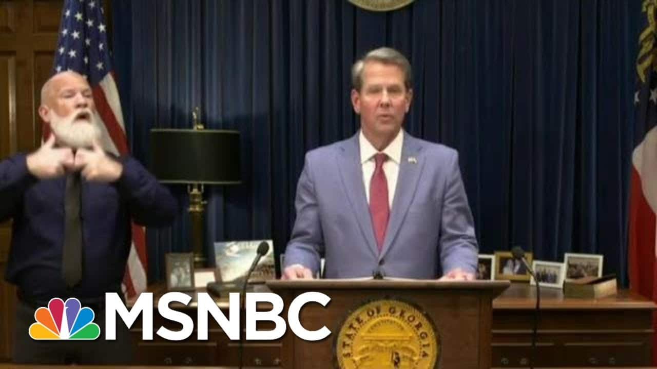 Georgia GOP Tightens Voting Rules In Wake Of Recent Losses | Morning Joe | MSNBC 1