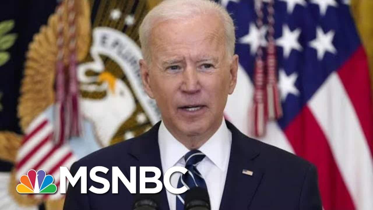 Biden Offers Harsh Critique Of GOP At News Conference | Morning Joe | MSNBC 9