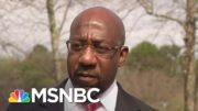 Sen. Warnock: New Georgia Voting Law Is 'Anti-Democratic' | Craig Melvin | MSNBC 4