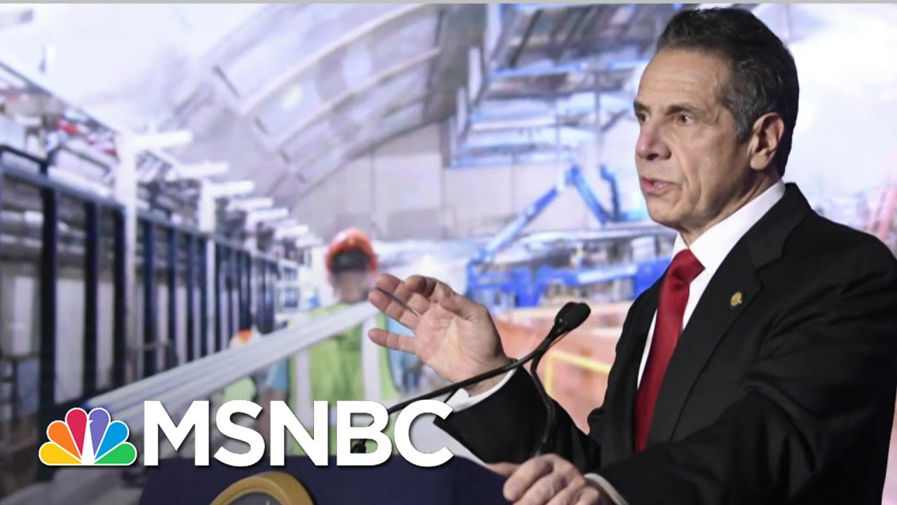 Another Woman Accuses NY Governor Of Sexual Harassment | The Last Word | MSNBC 1