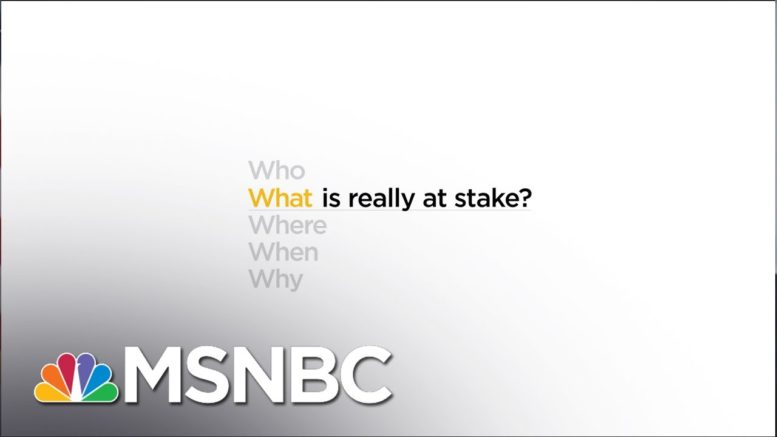 What is really at stake? | Eddie Glaude Jr. | MSNBC 1