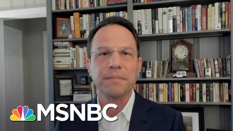 New GA Voting Law Gives Partisan Lawmakers Power Over Election Officials | Deadline | MSNBC 1