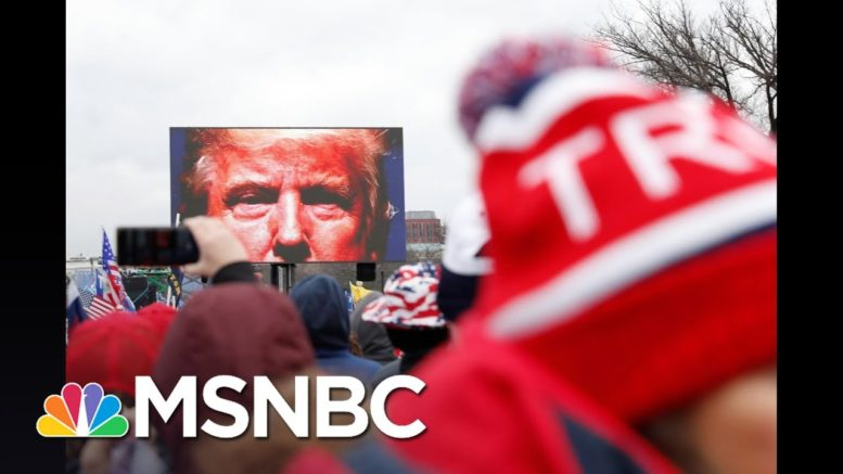 'Zero Threat': Trump, GOP, Right-Wing Media Downplay Horror Of Capitol Riot | All In | MSNBC 1