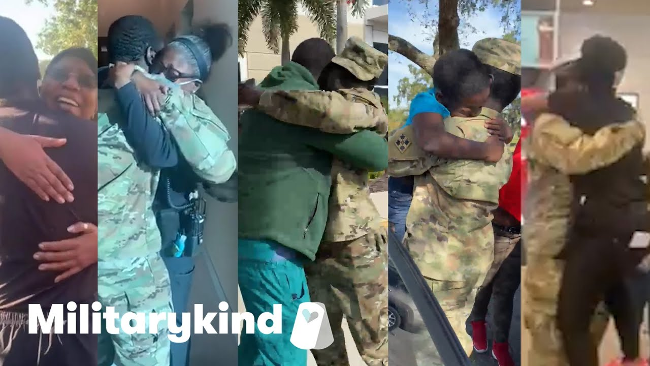 Soldier pulls off 5 amazing homecoming surprises | Militarykind 3