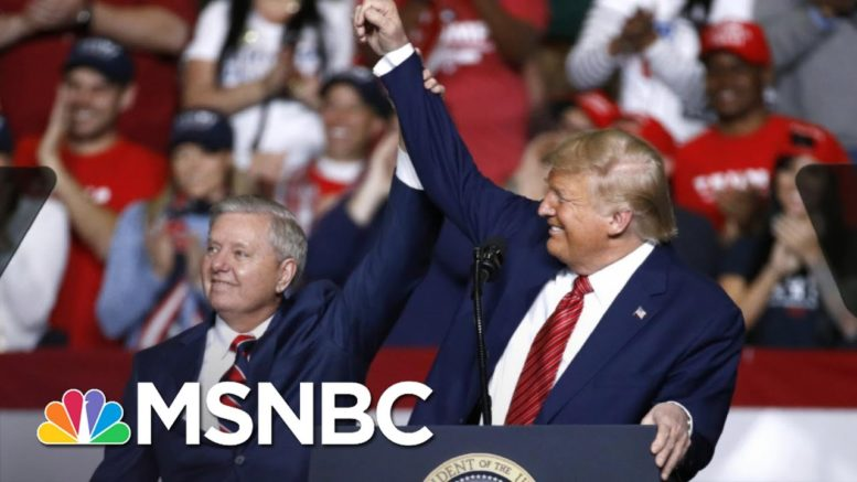 Lindsey Graham: Trump's 'Allowed Me To Be In His World' | The 11th Hour | MSNBC 1