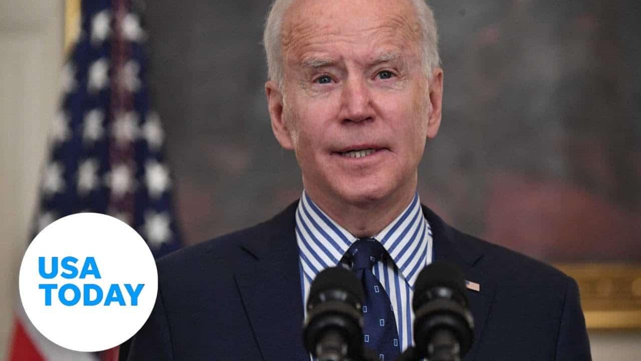 Pres. Biden signs executive order on voter access   USA TODAY 1
