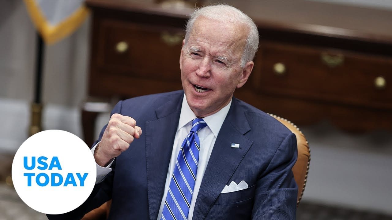 President Biden meets with heads of Johnson & Johnson and Merck (LIVE) | USA TODAY 8