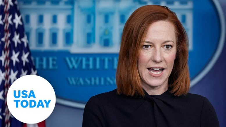 White House Press Secretary Jen Psaki holds White House briefing (LIVE) | USA TODAY 1