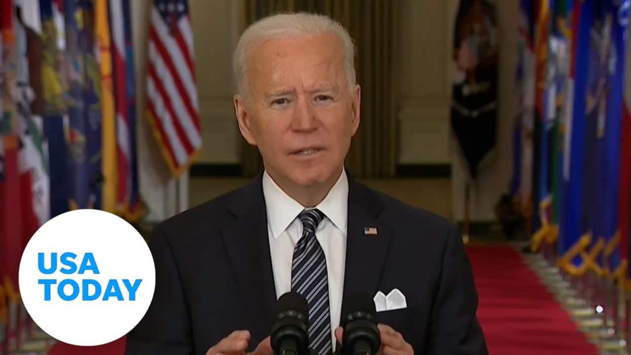Biden addresses nation on COVID-19 anniversary 1