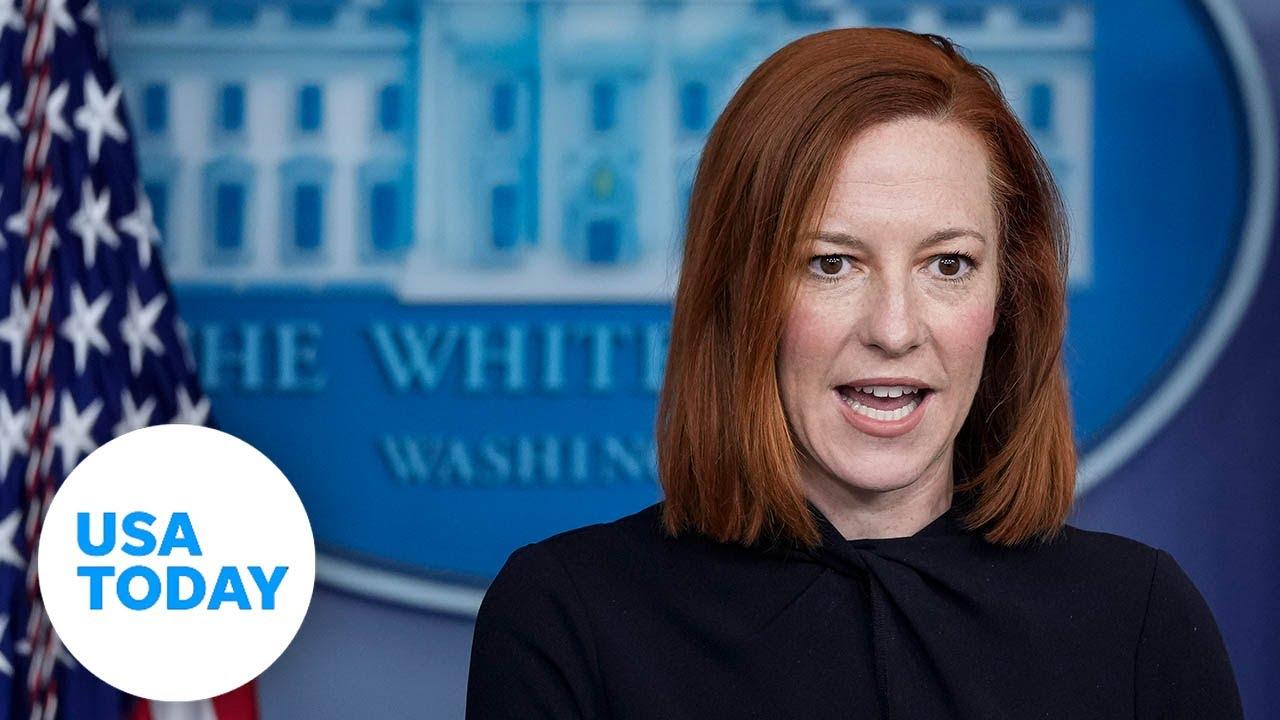White House Press Secretary Jen Psaki holds White House briefing | USA TODAY 1